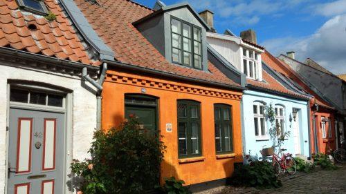 Idyllische Häuser in Aarhus