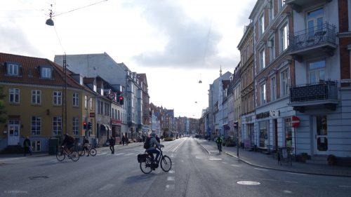 Radfahrer in Aarhus