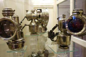 Antike Fahrradscheinwerfer
