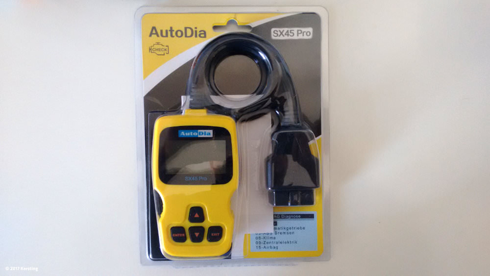 Autodia SX45 Pro Diagnosegerät für Skoda, Audi, Volkswagen und Seat