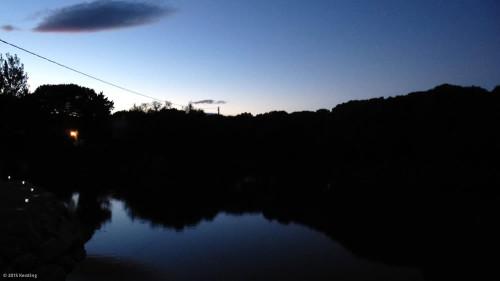 Urlaubsdomizil Camargue bei Nacht