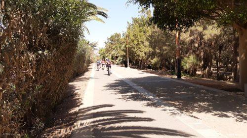 Fahrradweg in Costa Calma