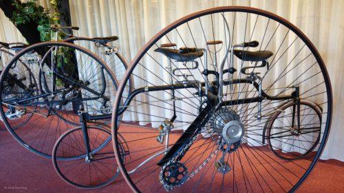 Coventry Rotary Tandem im Museum in Nimwegen