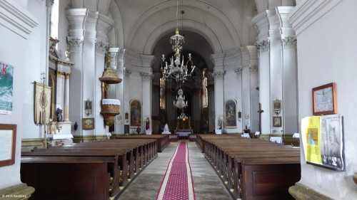 Kirche Dumbrăveni