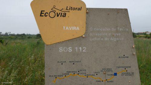 Ecovia do Litoral - Radweg in Portugal