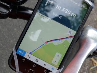 Einfache Fahrrad Navigation