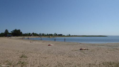 Strand in Kuressaare, Estland