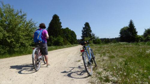 Estland mit dem Fahrrad auf staubigen Pisten