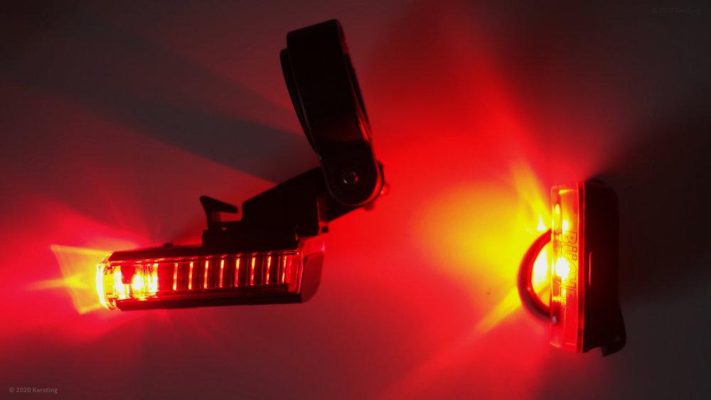 LED Fahrrad Rücklicht Test