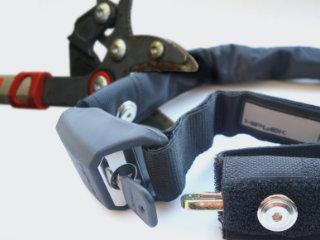 Fahrrad und Fahrradteile gegen Diebstahl sichern