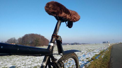 Fahrrad Steckschutzblech aus Kunststoff für schlechtes Winterwetter