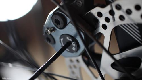 Einstellschraube für Fahrrad- Scheibenbremsen