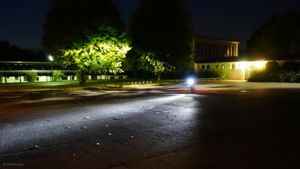 LED Fahrrad-Scheinwerfertest 2017