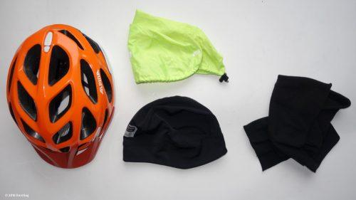 Fahrrad Winterbekleidung für Kopf und Hals