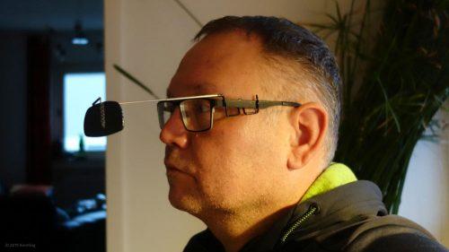 Fahrrad-Rückspiegel für Brillenträger