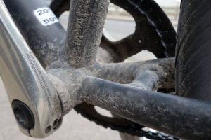 Dirty bottom bracket