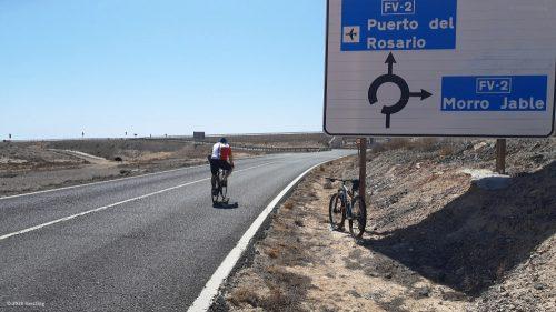 Rennrad auf Fuerteventura