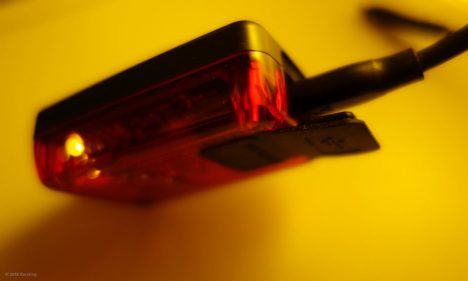 Aufladen des Lithium-Polymer-Akkus der Litecco G-Ray Fahrradlampe