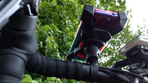 Grefay Fahrrad- und Motorrad Handyhalter