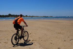 Bike ride to Ilha de Tavira