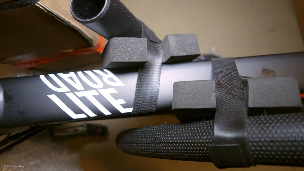 Perfekte Fahrrad-Versandverpackung