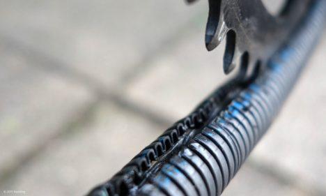 Geschmierte Kette im Chainrunner