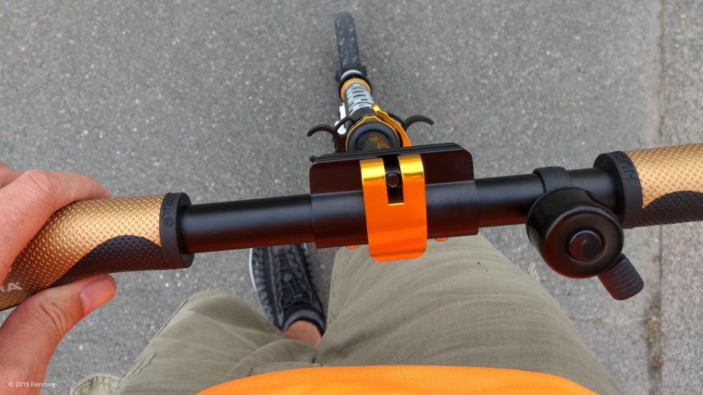 Scooter-Lager tauschen