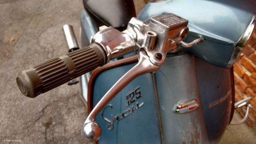 Lambretta Armatur für hydraulische Scheibenbremse
