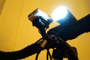LED Akkulampe stört Sigma Rox Fahrradtacho