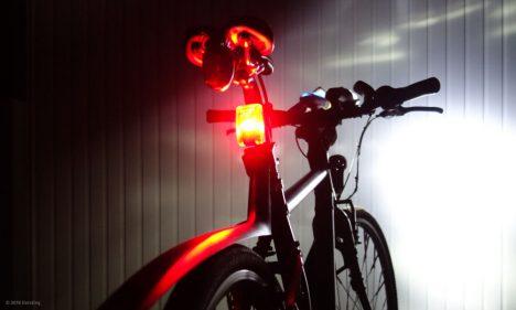 Sichtbarkeit der Litecco G-RAY bei Nacht