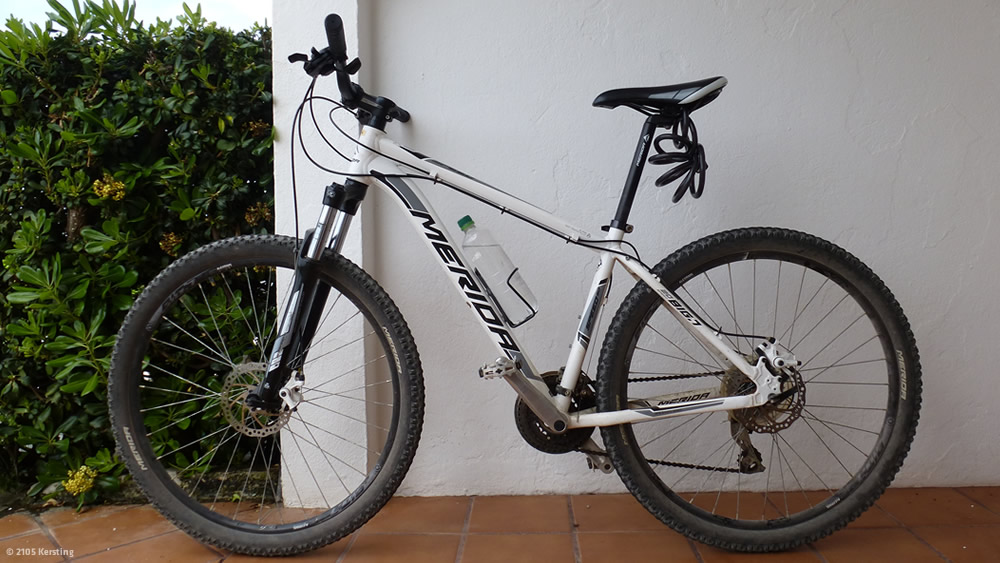 Menorca Bike rental Merida MTB