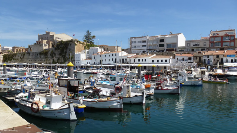 Ciutadella, the starting point of our bike tours on Menorca
