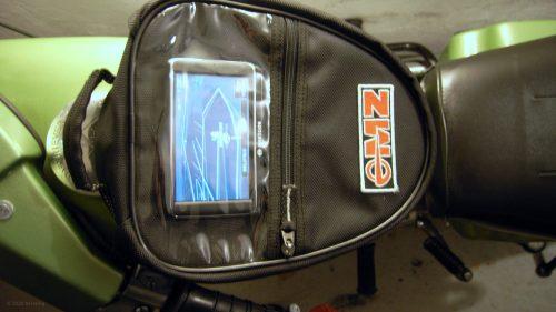 Navigation am Motorrad