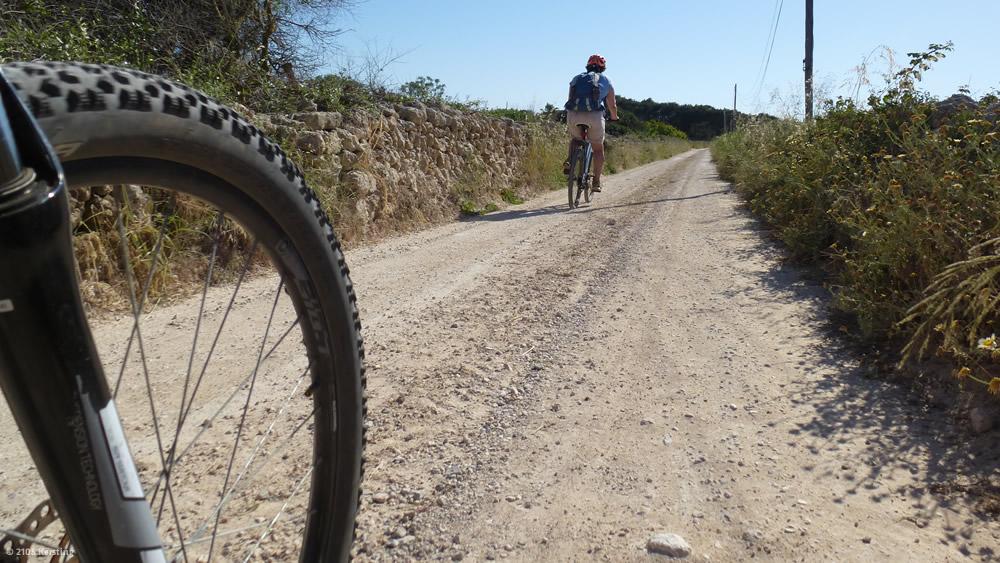 Mountain biking in Menorca