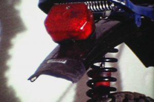 MTB mit Bremslicht und Federbeinen von 1982