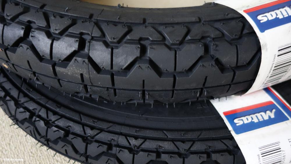 Mitas Reifen für Oldtimer MZ