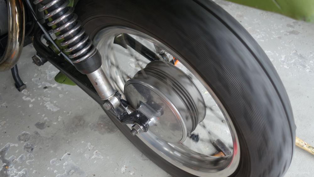 Bremsen einschleifen