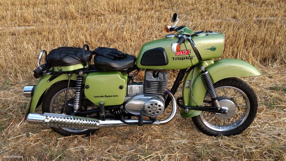 MZ 250 Bike Design