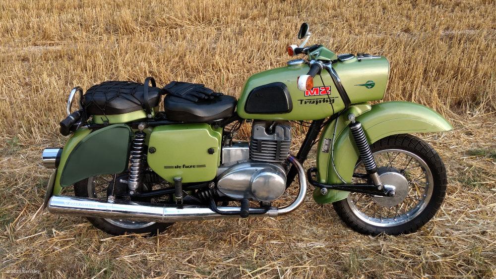 MZ ES 250/2 Design mit Packtaschen