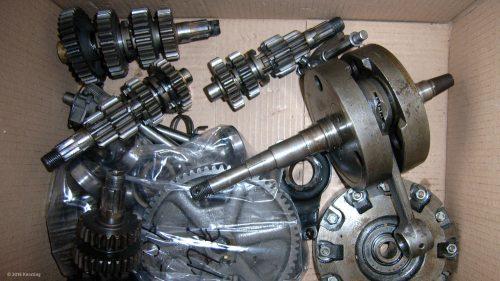 MZ ES 250/2 Ersatzteile Getriebe, Kupplung und Kurbelwelle