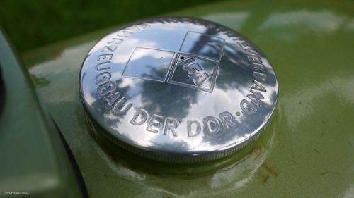 Original DDR MZ-Tankdeckel