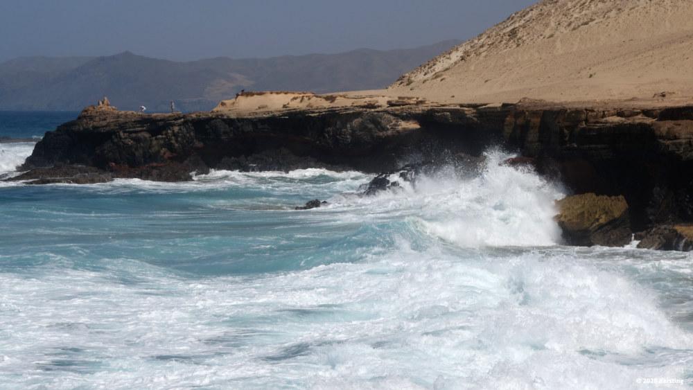In der Nähe des Playa del viejo-Rey