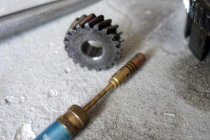 SIMSON Antriebsritzel zum leichten Abziehen von der Kurbelwelle erwärmen