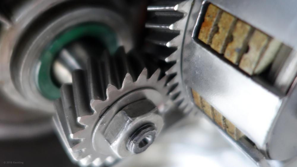 SIMSON Primärantrieb / Getriebe macht Geräusche