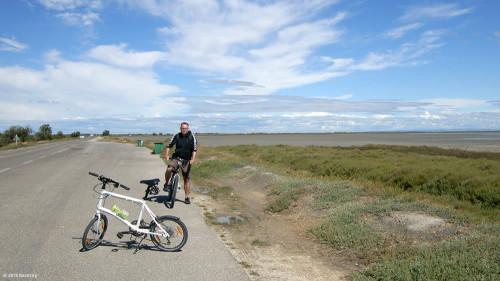 Mit dem Fahrrad in der Camargue