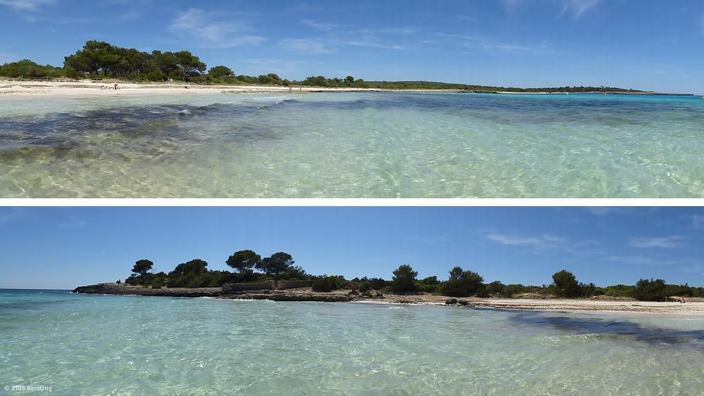 Radfahren auf Menorca nach Son Saura
