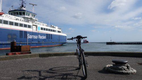 Radtransport von Hou auf die dänischen Inseln