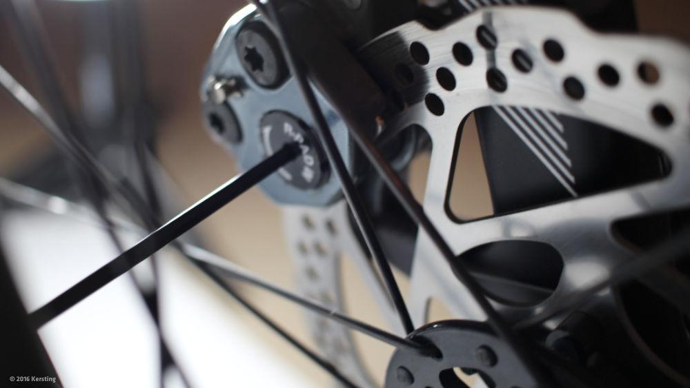 Fahrrad scheibenbremse einstellen