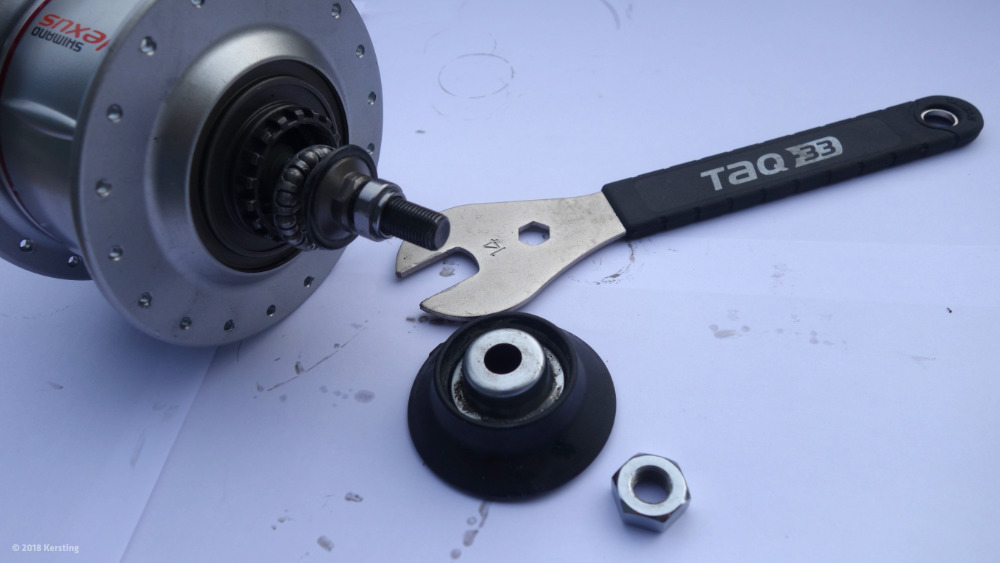 Shimano Nexus 8 - Demontage, Reparatur, Wartung oder Austausch