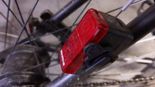 Sigma Sport LED Batterie Fahrradbeleuchtung CUBIC